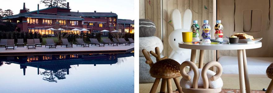hôtels de luxe au lac Leman